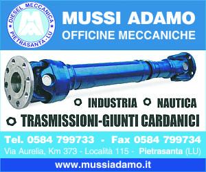 OFFICINE MECCANICHE MUSSI ADAMO - PIETRASANTA