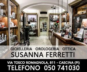 Susanna Ferretti - Gioielleria, Orologeria, Ottica a Cascina