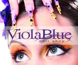 ViolaBlue Bergamo Crystal Nails